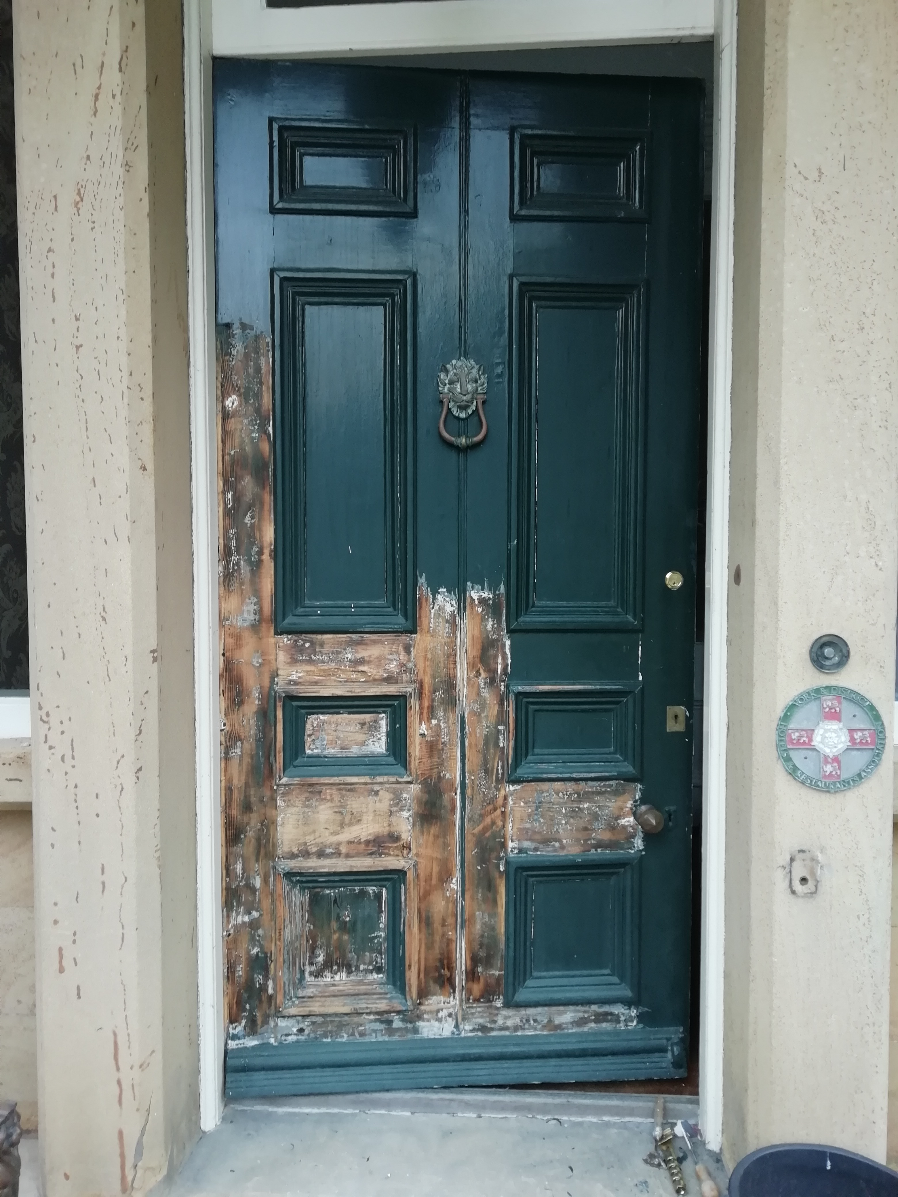 Victorian Front Door Restoration Malton North Yorkshire   Westgate ...